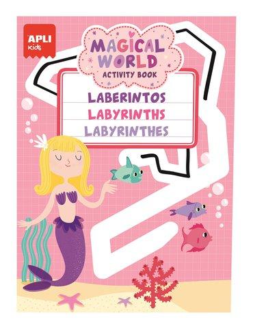 Teczka małego artysty z 3 książeczkami Apli Kids - Magiczny Świat