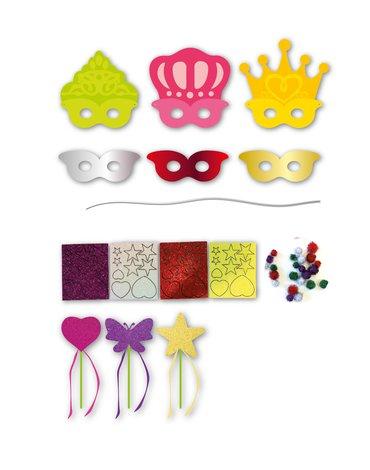 Zestaw artystyczny Apli Kids - Maski Księżniczek