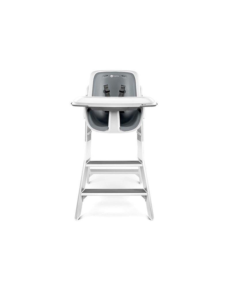 4moms Krzesło HIGH CHAIR white - grey