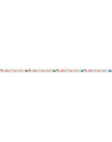 Djeco - Korektor z ozdobną taśmą KWIATKI DD03643