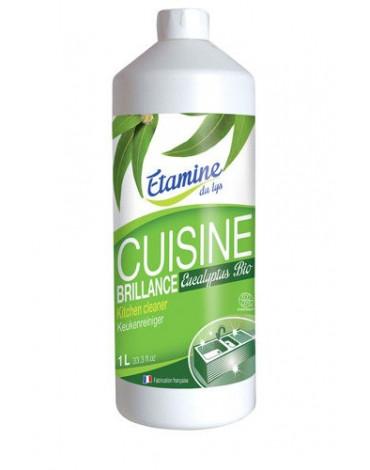 Etamine du Lys, Spray do Czyszczenia Kuchni 3 w 1 Organiczny Eukaliptus, Uzupełnienie, 1000 ml