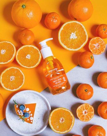 Uoga Uoga, Organiczny olejek do ciała z rokitnikiem i olejkiem ze słodkiej pomarańczy, 250ml