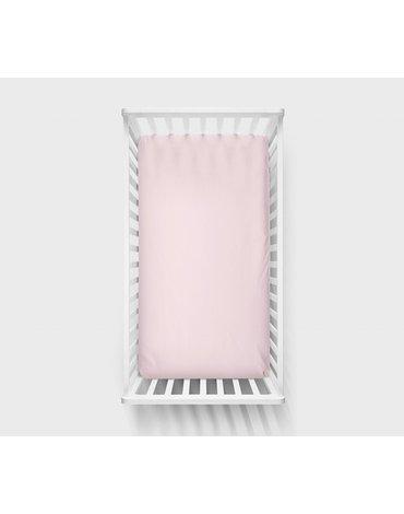 LullaLove, Prześcieradło Różowe 120x60cm