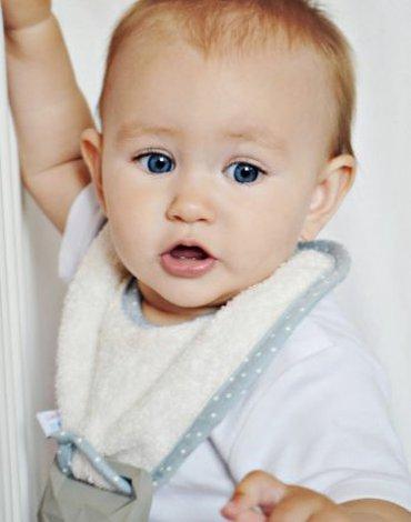 LullaLove,  supeRRO Baby HEVEA, Śliniak ercu