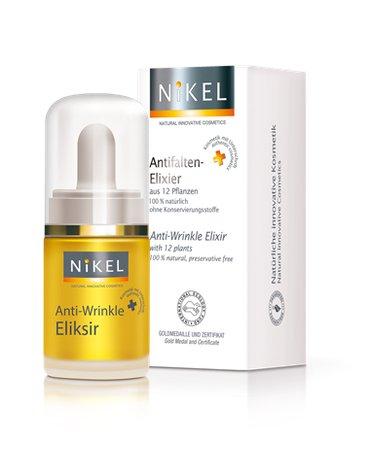 NIKEL, Przeciwzmarszczkowy Eliksir z 12 roślin INTENSIVE CARE, 15ml
