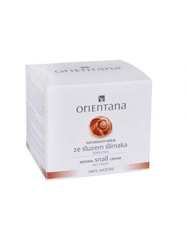 Orientana, Naturalny krem ze śluzem ślimaka, 50ml