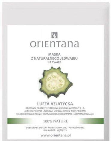 Orientana, Maska z naturalnego jedwabiu na twarz LUFFA AZJATYCKA