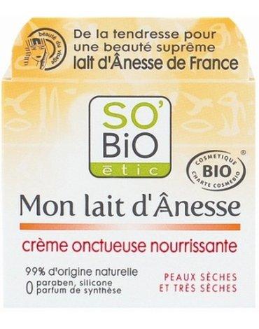 So Bio etic - SO BIO, Ośle Mleko, Aksamitny odżywczy krem, 50 ml