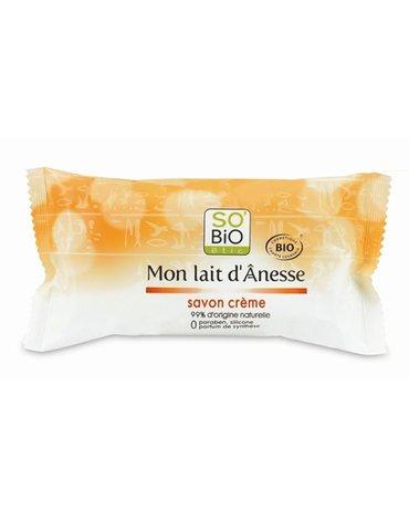 So Bio etic - SO BIO, Ośle Mleko, Kremowe mydło, 100 g