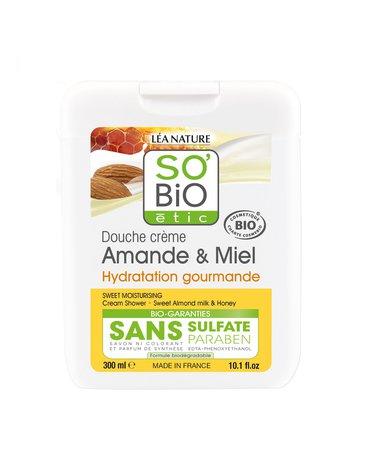 So Bio etic - SO BIO, Żel pod prysznic Migdały i Miód, 300 ml