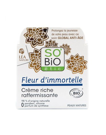 So Bio etic - SO BIO Liftingujący odżywczy krem Immortele, 50ml