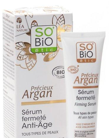 So Bio etic - SO BIO, Olejek arganowy, Intensywne serum przeciwzmarszczkowe, 30 ml