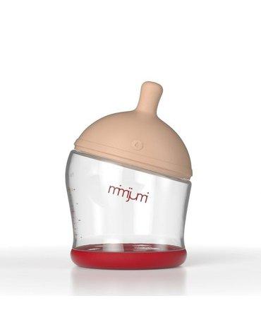 MIMIJUMI Butelka dla niemowląt 120 ml, NOWY KOD KRESKOWY