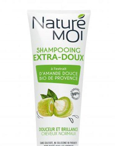 Nature Moi, Szampon do Włosów Normalnych z Olejem ze Słodkich Migdałów, 250ml