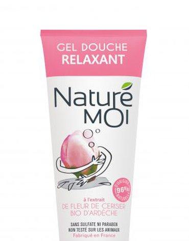 Nature Moi, Relaksujący Żel Pod Prysznic Subtelny KWIAT WIŚNI, 200ml