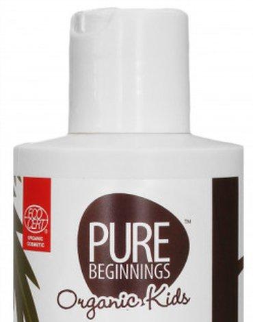 Pure Beginnings Organic Kids, Płyn do Kąpieli z Bąbelkami i Organicznym Aloesem, 250ml