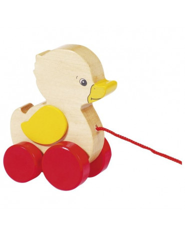 Goki® - Zabawka do ciągnięcia – Kaczuszka Ela