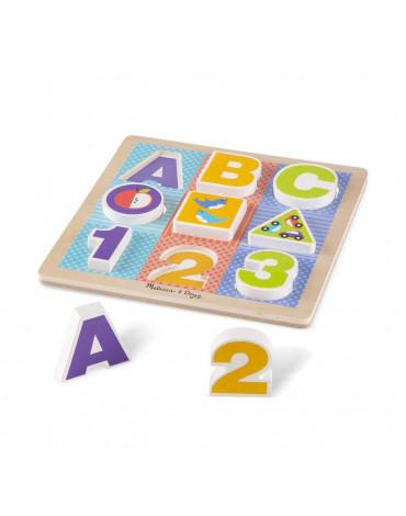Melissa&Doug® - Układanka ABC - pierwsze puzzle