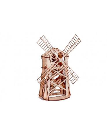 Wood Trick - Młyn wiatrowy - puzzle 3D