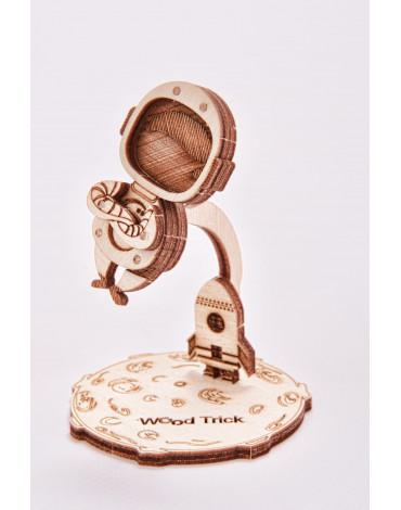 Wood Trick - Puzzle mechaniczne kosmonauta