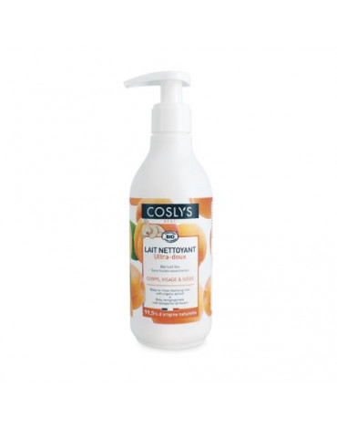Coslys, Morelowe mleczko myjąco-pielęgnujące dla niemowląt i dzieci bez alergenów, 250 ml