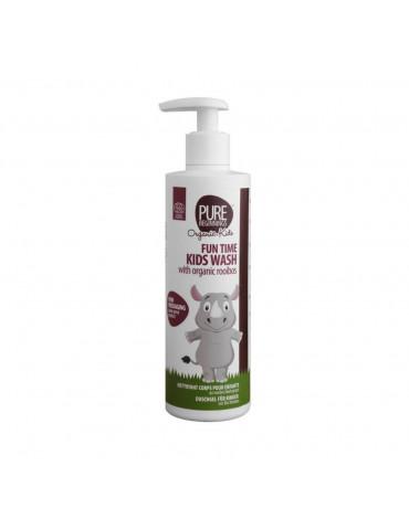 Pure Beginnings Organic Kids, Bąbelkowy Żel do Mycia Ciała z Organicznym Rooibosem, 250ml