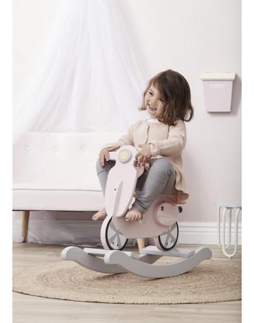 Kids Concept Skuter na Biegunach Pink