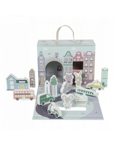Little Dutch Miasto w walizce LD4426