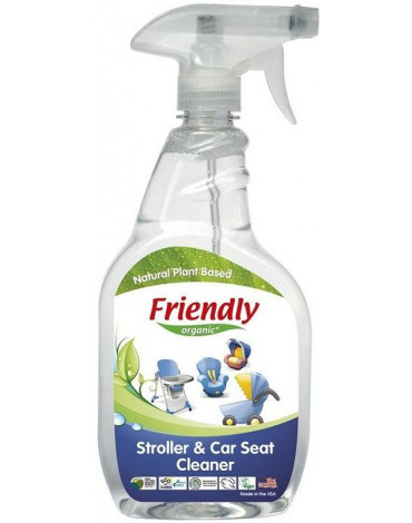 Friendly Organic, Spray do czyszczenia wózków i fotelików, 650 ml