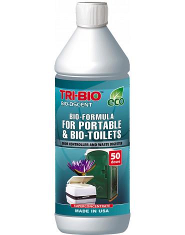 TRI-BIO, Probiotyczny Koncentrat do Toalet Turystycznych i Przenośnych, 0,89L