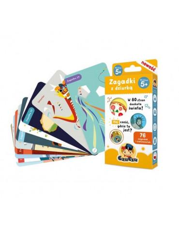 Bright Junior Media - Zagadki z dziurką dla dzieci w wieku od 5 lat