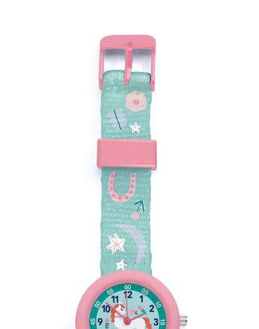 Djeco - Zegarek dziecięcy JEDNOROŻEC DD00420