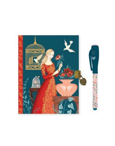 Djeco - Pamiętnik LISA z magicznym długopisem DD03615