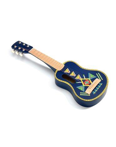 Djeco - Gitara- 6 strun metalowych DJ06024