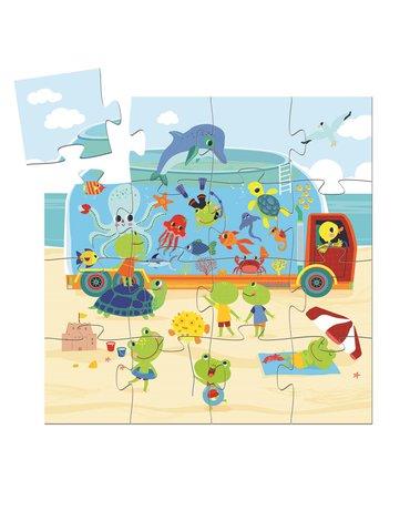 Djeco - Puzzle AKWARIUM 16 el. DJ07266