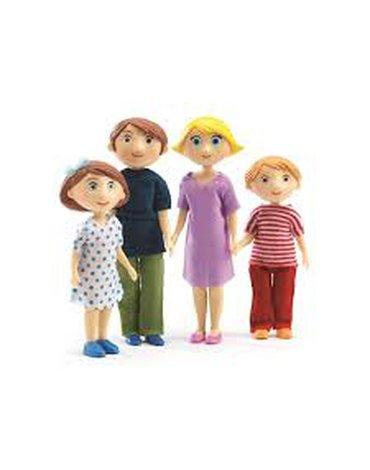 Djeco - Figurki - rodzina Gasparda & Romy DJ07811