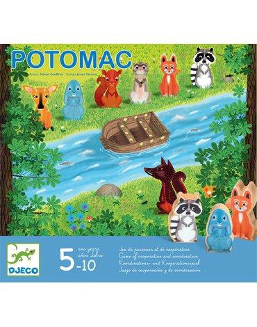 Djeco - Gra planszowa POTOMAC DJ08407