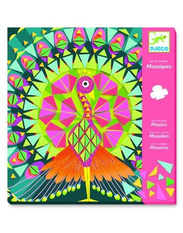 Djeco - Mozaiki piankowe PAW I SOWA DJ08888