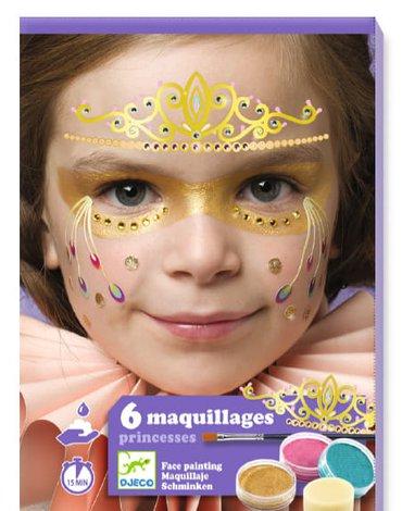 Djeco - Zestaw do malowania twarzy KSIĘŻNICZKA DJ09207