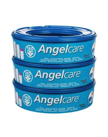 ABAKUS ANGELCARE - Wkład do pojemnika na pieluchy Angelcare; zestaw 3 szt.