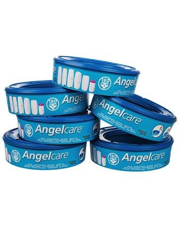 ABAKUS ANGELCARE - Wkład do pojemnika na pieluchy Angelcsre; zestaw 6 szt.