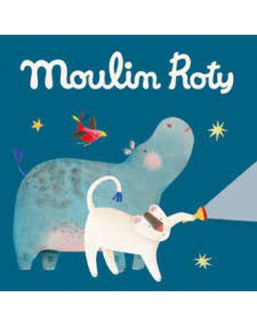 Moulin Roty - Zestaw 3 krążków z bajkami LES PAPOUM 658364
