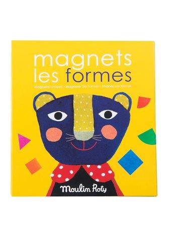"""Moulin Roty - Magnetyczna gra """"FIGURY GEOMETRYCZNE"""" 661364"""