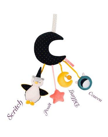 Moulin Roty - Zabawka interaktywny księżyc 40 cm 664062