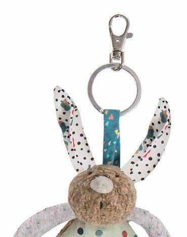 Moulin Roty - Breloczek do kluczy królik H12 665001