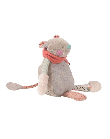 Moulin Roty - Maskotka Myszka z pozytywką H24 665041