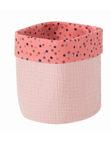 Moulin Roty - Różowy koszyk śr 15xH19 665122