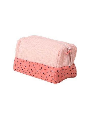 Moulin Roty - Różowa kosmetyczka L20xl10xH11 665138
