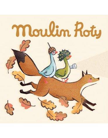 Moulin Roty - Zestaw 3 krążków z bajkami PODRÓŻ OLGI 714368