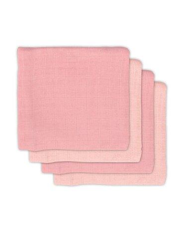 Jollein - Baby & Kids - Jollein - 4 pieluszki bambusowe 70 x 70 cm Pale Pink